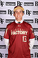 Dylan Fesperman (13) of Pinnacle High School in Phoenix, Arizona during the Baseball Factory All-America Pre-Season Tournament, powered by Under Armour, on January 12, 2018 at Sloan Park Complex in Mesa, Arizona.  (Mike Janes/Four Seam Images)