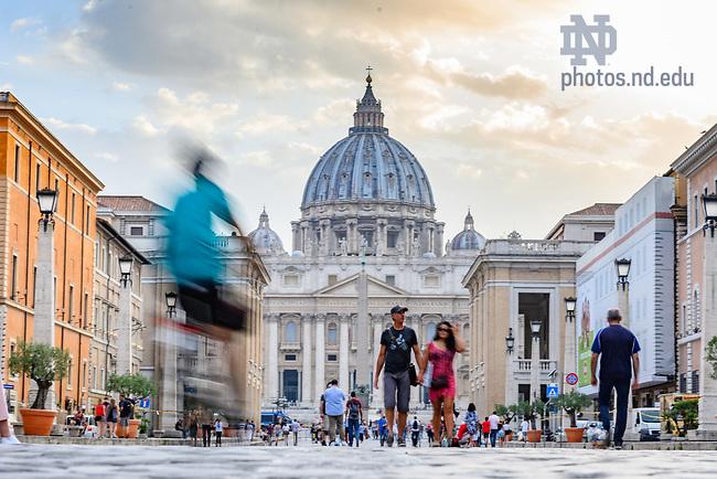 June 11, 2019; The Vatican, Rome (Photo by Matt Cashore/University of Notre Dame)