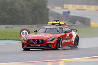 28th August 2021; Spa Francorchamps, Stavelot, Belgium: FIA F1 Grand Prix of Belgium, qualifying sessions;  safety car, during the stoppage for Norris crash