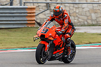 2nd October 2021; Austin, Texas, USA;  Danilo Petrucci (9) - (ITA) riding a KTM for the Tech3 KTM Factory Racing Team during Free Practise 3 at the MotoGP Red Bull Grand Prix of the Americas held October 2, 2021 at the Circuit of the Americas in Austin, TX.