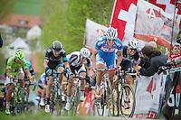 Bjorn Leukemans (BEL/Wanty-GroupeGobert) up the Paterberg<br /> <br /> Ronde van Vlaanderen 2014