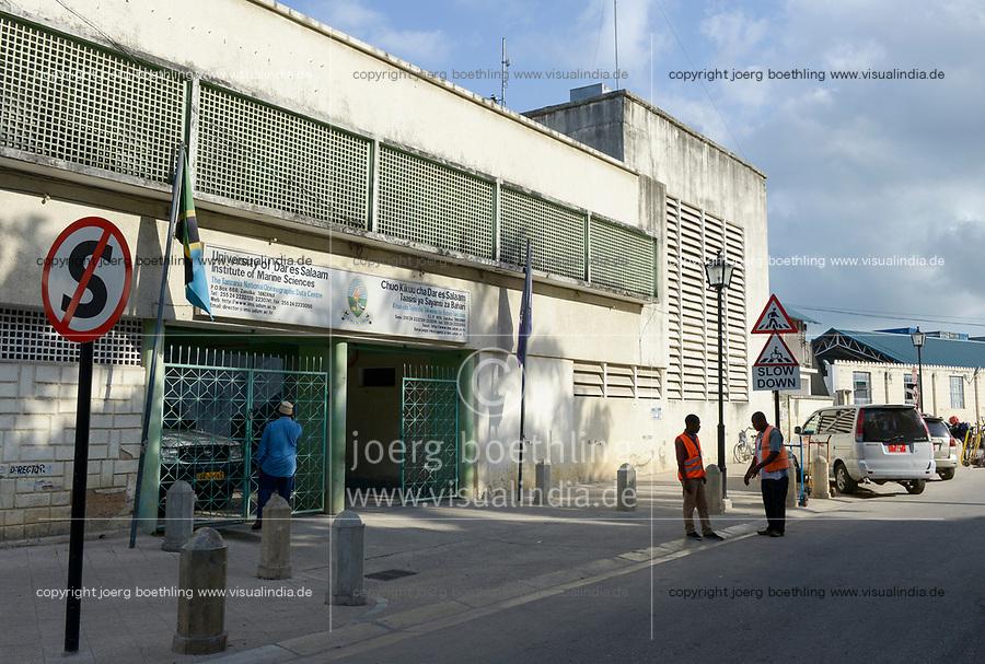TANZANIA, Zanzibar, Stone town, Institute of Marine Sciences