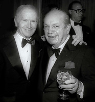 Red Buttons and Joey Adams 1984<br /> Photo By John Barrett/PHOTOlink