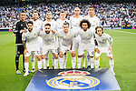 Real Madrid's players during Champions League 2015/2016 Semi-Finals 2nd leg match at Santiago Bernabeu in Madrid. May 04, 2016. (ALTERPHOTOS/BorjaB.Hojas)