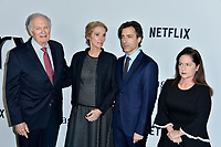 "LOS ANGELES, USA. November 06, 2019: Alan Alda, Julie Hagerty, Noah Baumbach & Martha Kelly at the premiere for ""Marriage Story"" at the DGA Theatre.<br /> Picture: Paul Smith/Featureflash"