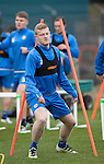 St Johnstone Training…..21.10.16<br />Brian Easton pictured during training ahead of Sunday's game against local rivals Dundee<br />Picture by Graeme Hart.<br />Copyright Perthshire Picture Agency<br />Tel: 01738 623350  Mobile: 07990 594431
