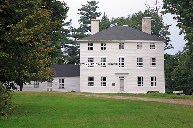 Pownalborough Court House, built in 1761, is the oldest court building in Maine. John Adams practiced law here in the 1770's and went on to become the second president of the young nation of the United States of America.