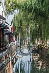 China, Jiansu, Suzhou, Pingjiang Historic District