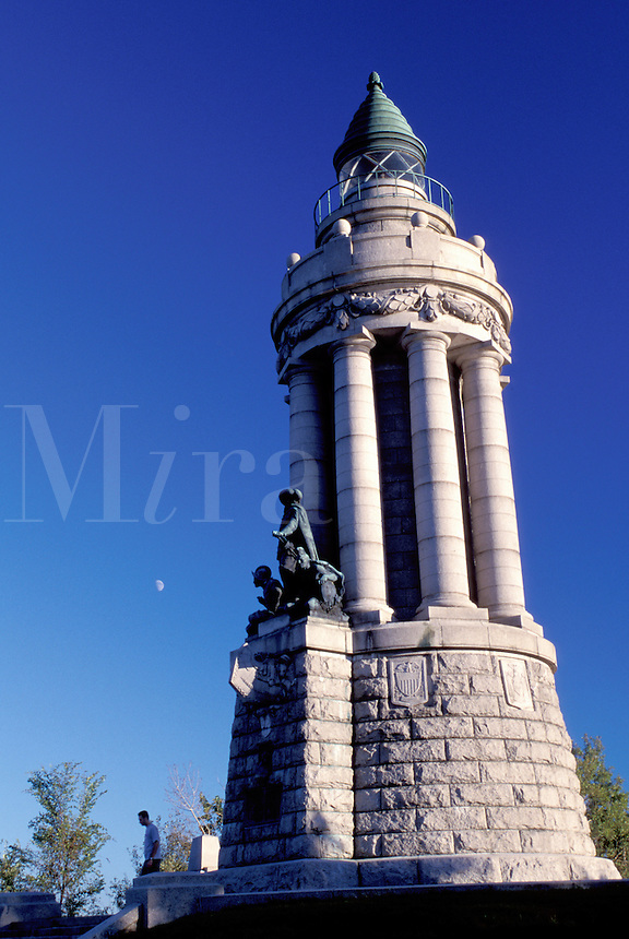 New York, Crown Point, NY, Crown Point State Historic Site, Champlain Memorial Lighthouse