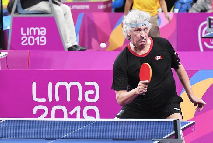 Ian Kent, Lima 2019 - Para Table Tennis // Para tennis de table.<br /> Ian Kent competes in Para Table Tennis // Ian Kent participe en Para tennis de table. 23/08/2019.
