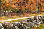 The Battle Road, Minuteman National Historic Park, Lincoln, Massachusetts, USA
