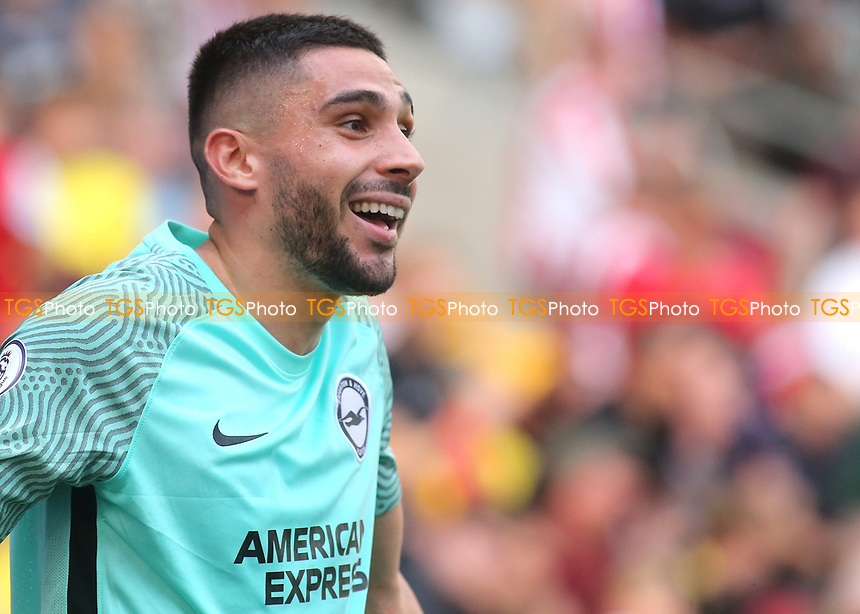 Neal Maupay of Brighton & Hove Albion during Brentford vs Brighton & Hove Albion, Premier League Football at the Brentford Community Stadium on 11th September 2021