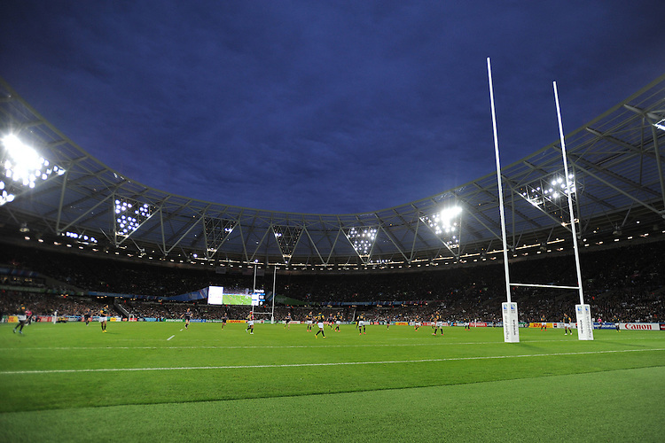 07 October 2015: General view during Match 31 of the Rugby World Cup 2015 between South Africa and USA - Queen Elizabeth Olympic Park, London, England (Photo by Rob Munro/CSM)