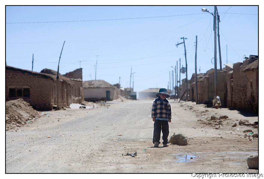 Bolivie<br /> Uyuni- Désert de sel.