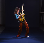 EDWARD VAN HALEN, VH 2 ALBUM SESSION, STUDIO, 1978, NEIL ZLOZOWER