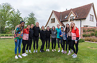 Anstey, ENG - May 29, 2019:  The USWNT visited Yew Tree Alpacas on an afternoon off.