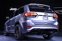 NEW YORK, EUA, 12.04.2017 - AUTOMÓVEL-NEW YORK - Jeep Grand Cherokee é visto durante o New York Internacional Auto Show no Javits Center na cidade de New York nesta quarta-feira, 12. O evento é aberto ao público do dia 14 à 23 de abril de 2017  .  (Foto: Vanessa Carvalho/Brazil Photo Press)