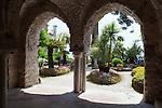 Italy, Campania, Ravello: Villa Rufolo gardens | Italien, Kampanien, Ravello: im Garten der Villa Rufolo