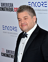 LOS ANGELES, USA. November 09, 2019: Patton Oswalt at the American Cinematheque Award Gala honoring Charlize Theron at the Beverly Hilton.<br /> Picture: Paul Smith/Featureflash