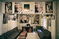 Inside the Fatah office of the Shatila camp. Beirut, Lebanon. August 2015