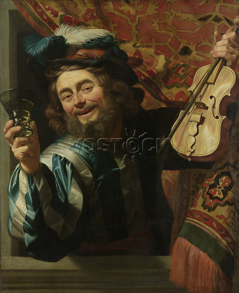 The Merry Fiddler, Gerard van Honthorst, 1623