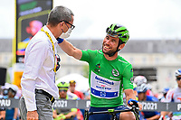 15th July 2021; Luz Ardiden, Hautes-Pyrénées department, France;  CAVENDISH Mark (GBR) of DECEUNINCK - QUICK-STEP during stage 18 of the 108th edition of the 2021 Tour de France cycling race, a stage of 129,7 kms between Pau and Luz Ardiden.