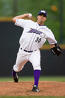 Starting pitcher Anthony Carter #30 of the Winston-Salem Dash in action versus the Potomac Nationals at Wake Forest Baseball Stadium May 8, 2009 in Winston-Salem, North Carolina. (Photo by Brian Westerholt / Four Seam Images)