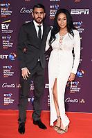 Riyad Mahrez and Rita Johal <br /> at the BT Sport Industry Awards 2017 at Battersea Evolution, London. <br /> <br /> <br /> ©Ash Knotek  D3259  27/04/2017