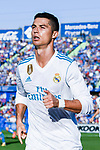 Cristiano Ronaldo of Real Madrid celebrates after scoring his goal  during the La Liga 2017-18 match between Getafe CF and Real Madrid at Coliseum Alfonso Perez on 14 October 2017 in Getafe, Spain. Photo by Diego Gonzalez / Power Sport Images