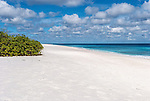 A perfect beach near Paris on the island of Kiritimati in Kiribati.