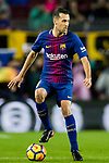 Sergio Busquets Burgos of FC Barcelona in action during the La Liga 2017-18 match between FC Barcelona and Sevilla FC at Camp Nou on November 04 2017 in Barcelona, Spain. Photo by Vicens Gimenez / Power Sport Images
