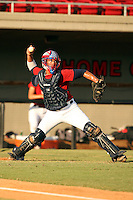 September 14, 2009:  Stefan Sabol, one of many top prospects in action, taking part in the 18U National Team Trials at NC State's Doak Field in Raleigh, NC.  Photo By David Stoner / Four Seam Images