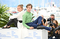 CANNES, FRANCE. July 8, 2021: Maya Vanderbeque & Gunter Duret at the photocall for Un Monde at the 74th Festival de Cannes.<br /> Picture: Paul Smith / Featureflash