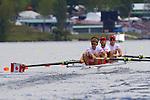 Rowing, Canada, Canadian Men's Lightweight Four, Timothy Meyers, Morgan Jarvis, Terrence McKall, Mike Lewis, stroke, 2010 FISA World Rowing Championships, Lake Karapiro, Hamilton, New Zealand, Heat, Tuesday 2 November,