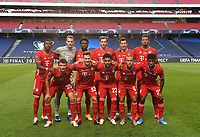 23rd August 2020, Estádio da Luz, Lison, Portugal; UEFA Champions League final, Paris St Germain versus Bayern Munich;  FC Bayern Munich players pose for a team photo