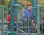 8.12.10 Rachel Alexandra schools in the starting gate