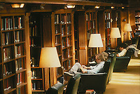 Linonia & Brothers reading room, Sterling library, Yale, New Haven, CT