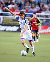 Claudio Lopez in the 0-0 draw at Rice Eccles Stadium in Salt Lake City, Utah on June 7, 2008.