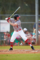 Illinois State Redbirds shortstop Owen Miller (8) at bat during a game against the Ohio State Buckeyes on March 5, 2016 at North Charlotte Regional Park in Port Charlotte, Florida.  Illinois State defeated Ohio State 5-4.  (Mike Janes/Four Seam Images)