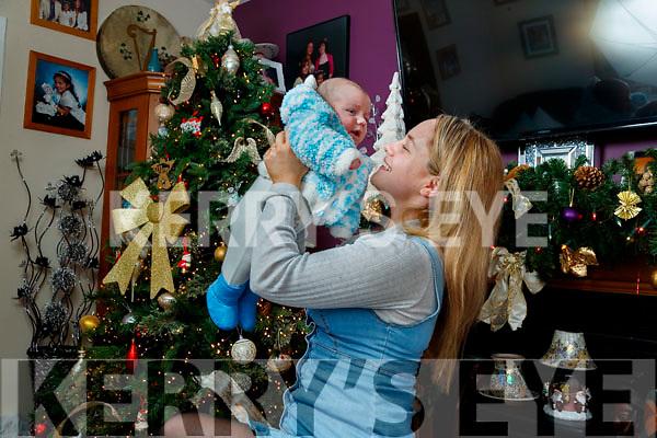 Saoirse Coffey with her son Fíonn.