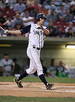 Brandon Buckman of the Swing of the Quad Cities during the Midwest League All-Star game.  Photo by:  Mike Janes/Four Seam Images