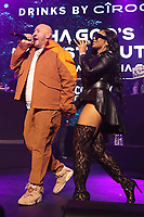 NEW YORK, NY- SEPTEMBER 14: Fat Joe And Ashanti pictured at Fat Joe And Ja Rule Verzuz Battle at The Hulu Theater at Madison Square Garden in New York City on September 14, 2021. Credit: Walik Goshorn/MediaPunch