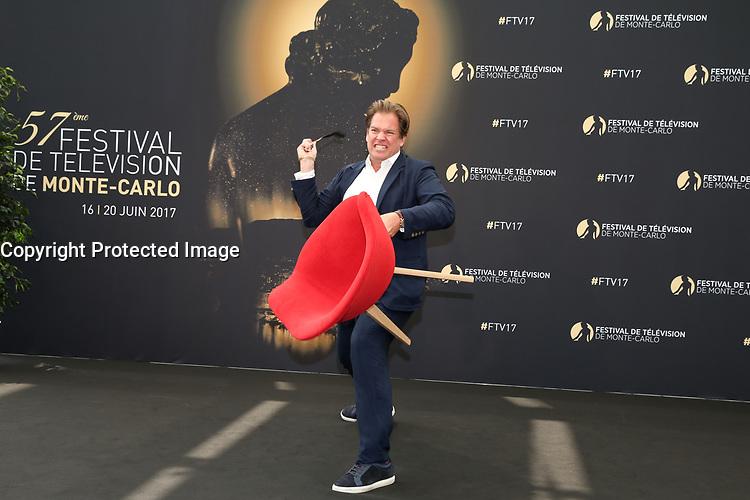 MICHAEL WEATHERLY - Photocall 'BULL' - 57ème Festival de la Television de Monte-Carlo. Monte-Carlo, Monaco, 18/06/2017. # 57EME FESTIVAL DE LA TELEVISION DE MONTE-CARLO - PHOTOCALL 'BULL'