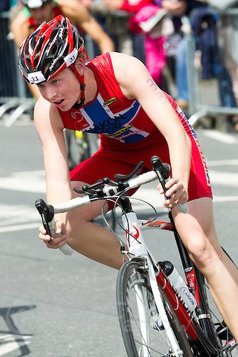 04 JUL 2010 - ATHLONE, IRL - Hakon Johannessen (NOR) - European Junior Mens Triathlon Championships .(PHOTO (C) NIGEL FARROW)