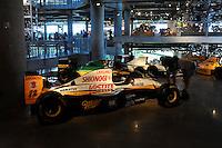 17-19  July, 2009, Birmingham, Alabama USA.An ex-Max Papis car a 1994 Lotus F1, Barber Vintage Motorsports Museum..©2009 F.Peirce Williams, USA.
