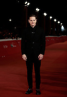 "Il regista statunitense Matt Ross posa sul red carpet per la presentazione del film ""Captain Fantastic"" al Festival Internazionale del Film di Roma, 17 ottobre 2016. <br /> U.S. director Matt Ross  poses on the red carpet to present the movie ""Captain Fantastic"" during the international Rome Film Festival at Rome's Auditorium, 17 October 2016.<br /> UPDATE IMAGES PRESS/Isabella Bonotto"