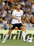 Valencia's Sergio Canales during La Liga match.September 1,2013. (ALTERPHOTOS/Acero)