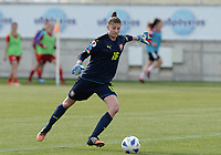 20180302 - LARNACA , CYPRUS : Czech Alexandra Vanickova pictured during a women's soccer game between Austria and Czech Republic , on friday 2 March 2018 at the AEK Arena in Larnaca , Cyprus . This is the second game in group B for Austria and Czech Republic during the Cyprus Womens Cup , a prestigious women soccer tournament as a preparation on the World Cup 2019 qualification duels. PHOTO SPORTPIX.BE | DAVID CATRY