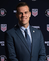 Bradenton, FL - Friday, January 13, 2019:  Referee headshots at the conclusion of the US Soccer Referee Program National Camp at the Legacy Hotel at IMG Academy in Bradenton, FL.