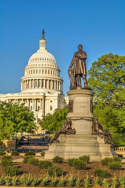 Garfield Monument - Capitol /  US Capitol Building Washington DC